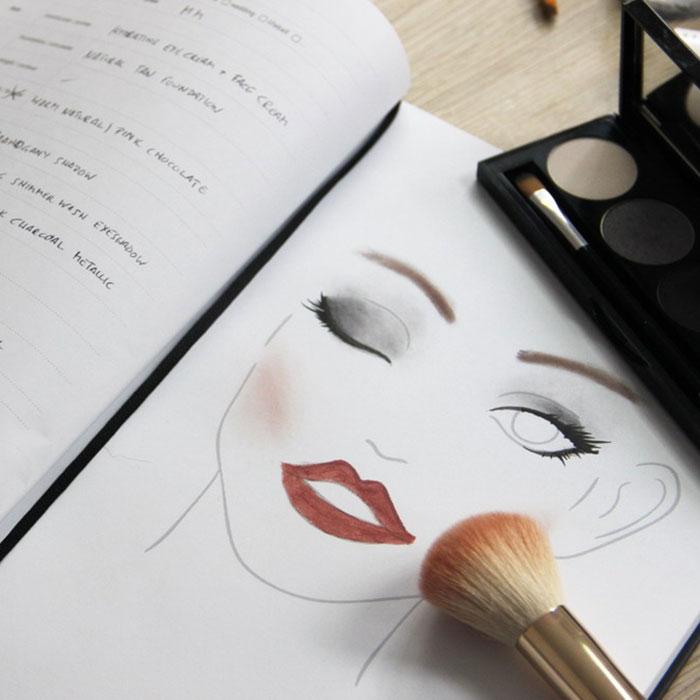 Σεμινάριο makeup φωτό